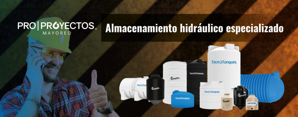 Proproyectos, almacenamiento hidráulico especializado.