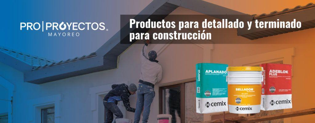 Proproyectos. Productos para detallado y terminado para construcción.
