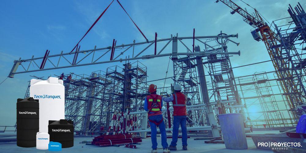 Soluciones para construcción en almacenamiento hidráulico. ProProyectos.